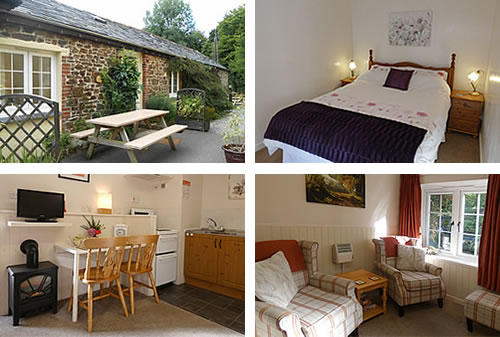 Comfortable furnished holiday cottage for two in the countryside near Bude