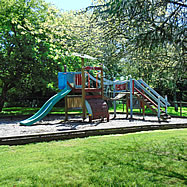 Childrens playarea in the gardens
