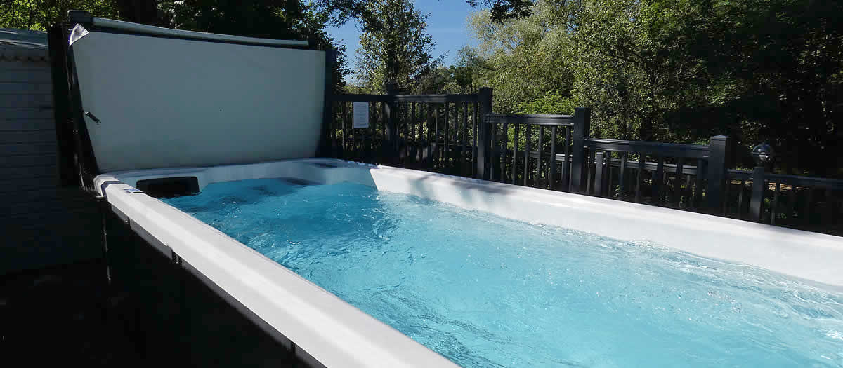 Shared, heated five metre swimming pool May to September for use of guests, extra charge applies